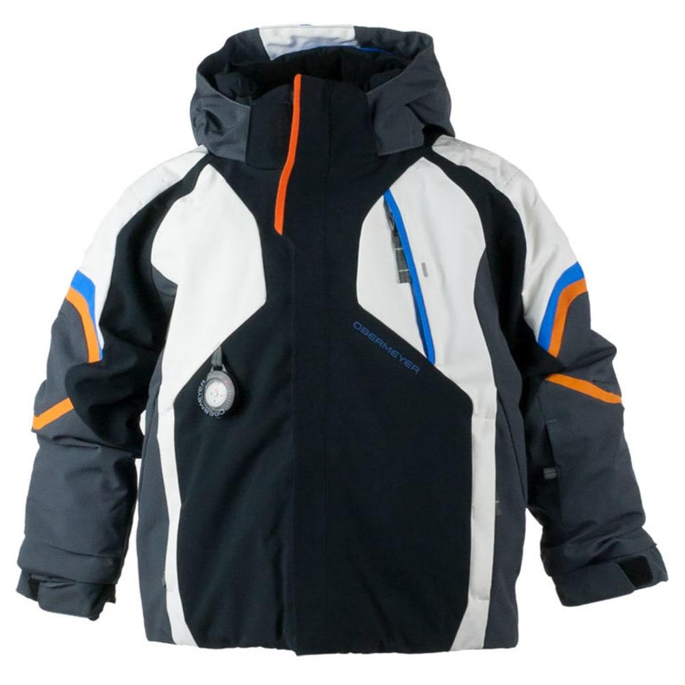 OBERMEYER Boys' Patrol Jacket - BLACK