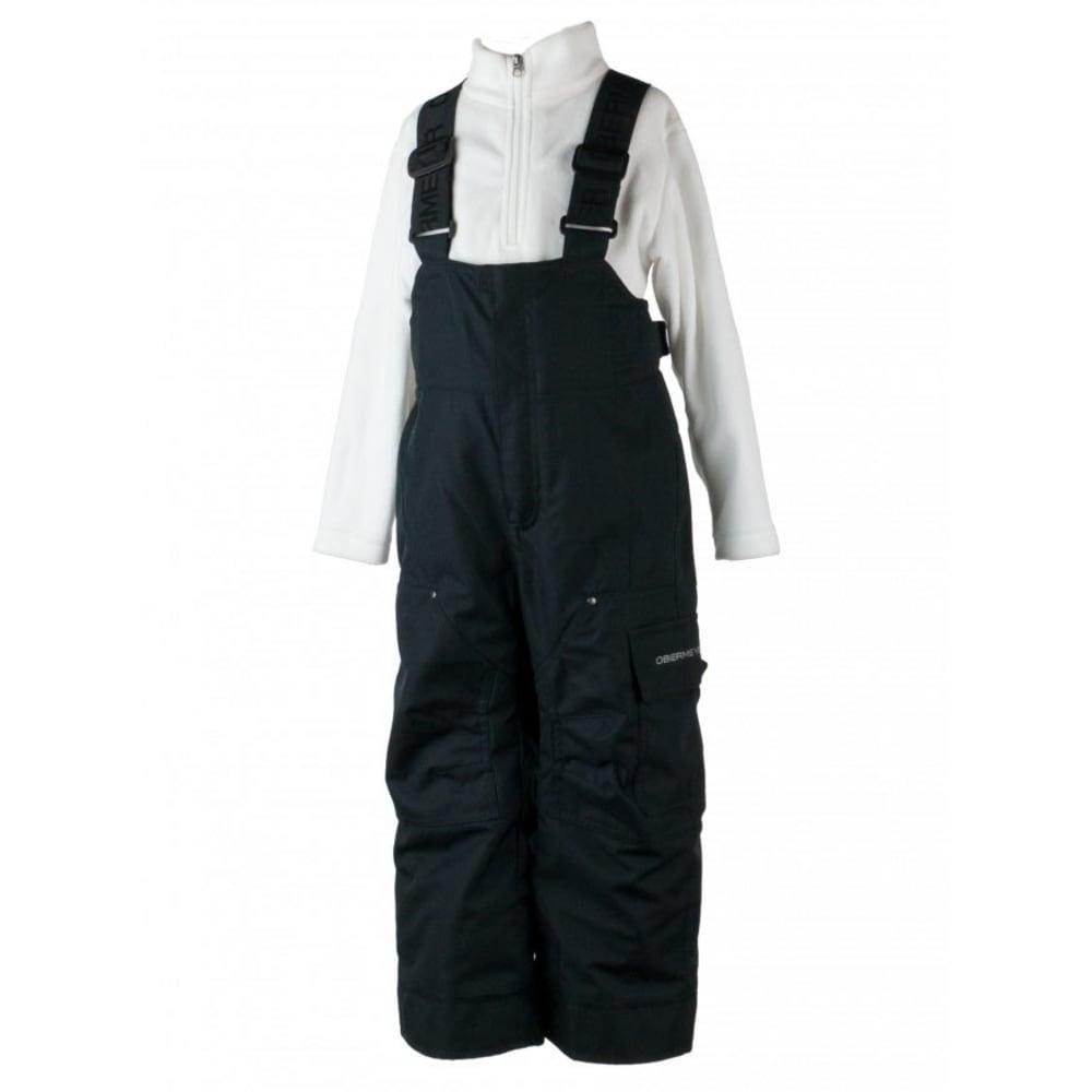 OBERMEYER Boys' Volt Novelty Snow Pants - BLACK