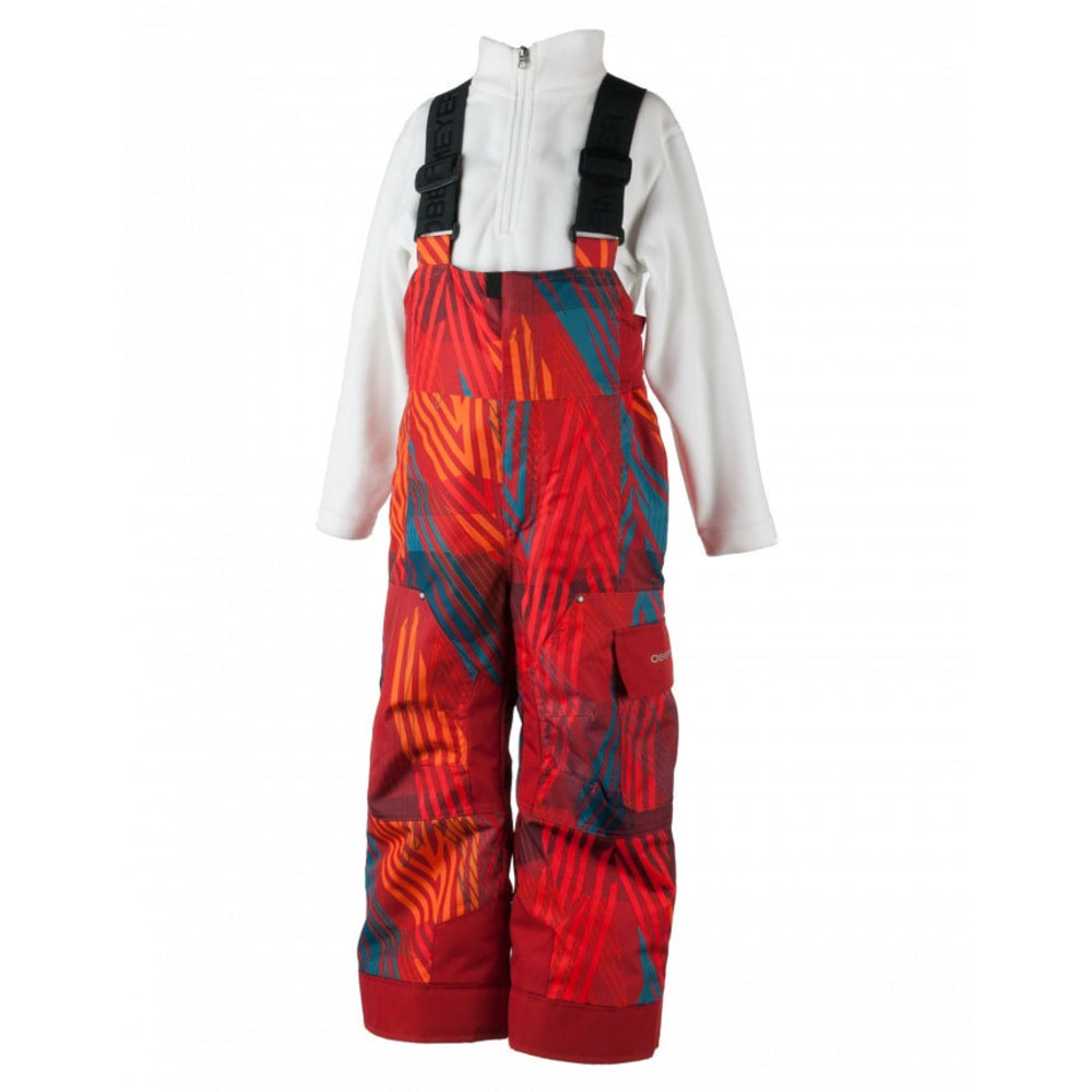OBERMEYER Boys' Volt Novelty Snow Pants - THUNDER RED