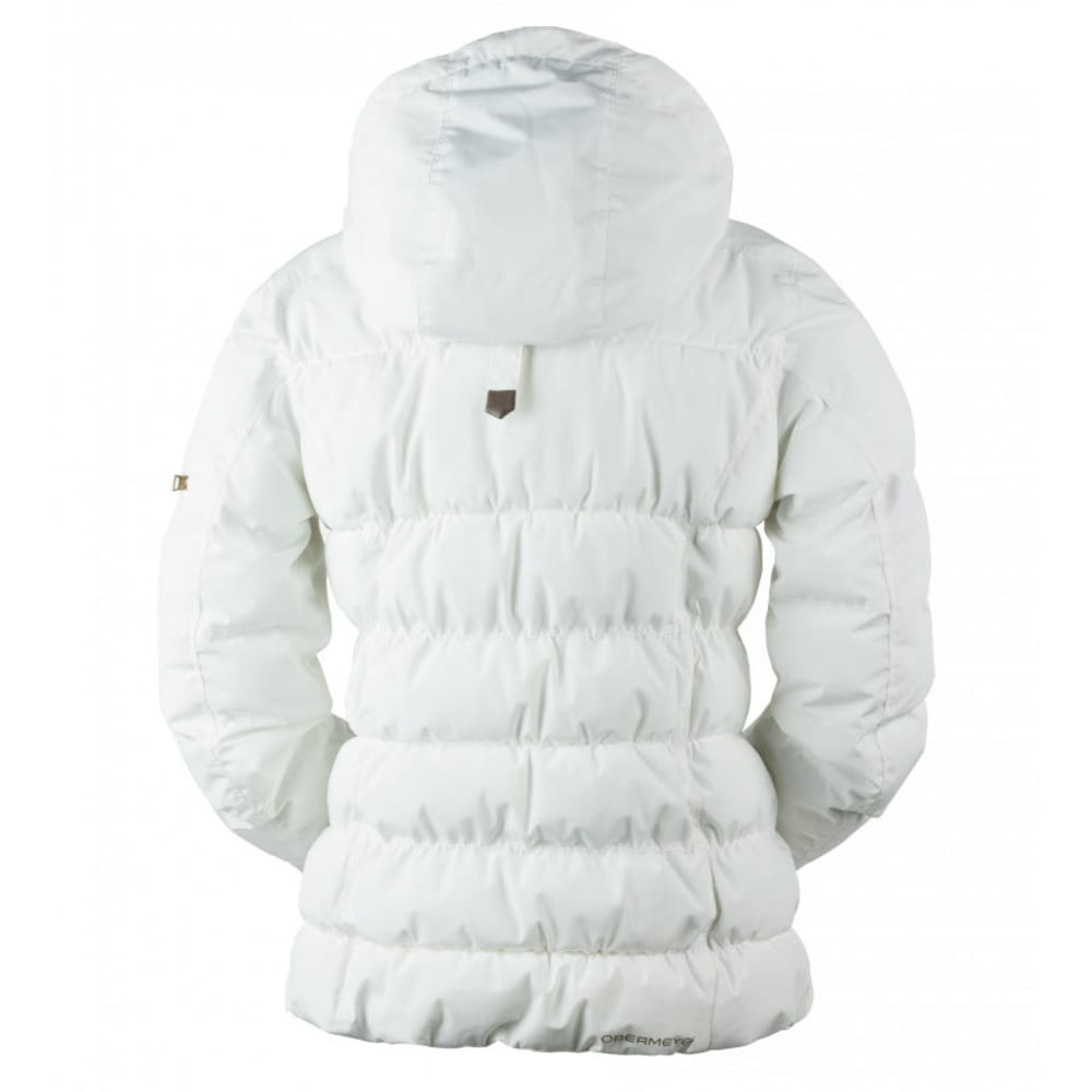 OBERMEYER Women's Leighton Jacket - WHITE