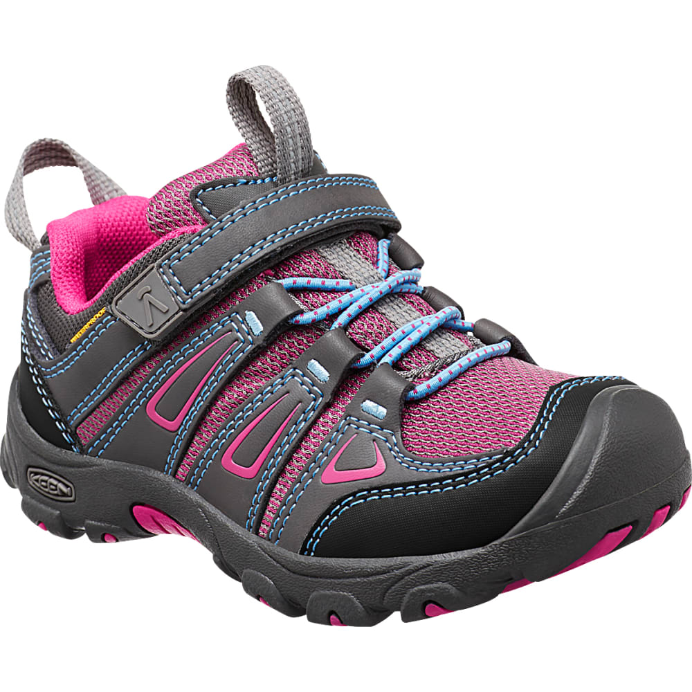 KEEN Little Kids' Oakridge Waterproof Hiking Shoes 8