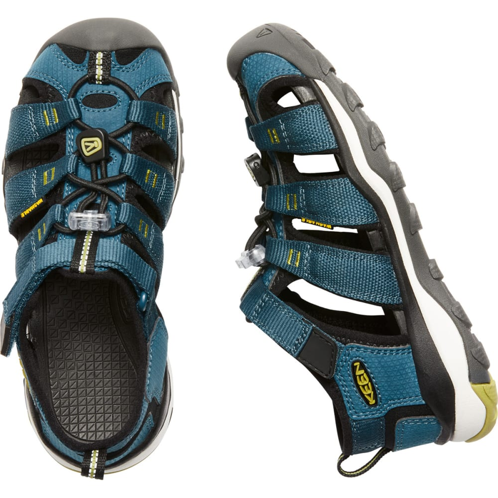 KEEN Big Kids' Newport Neo H2 Sandals - LEGION BLUE/MOSS