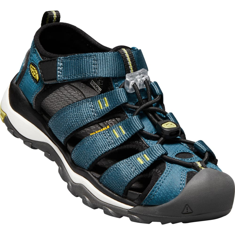 KEEN Big Kids' Newport Neo H2 Sandals - LEGION BLUE/MOSS