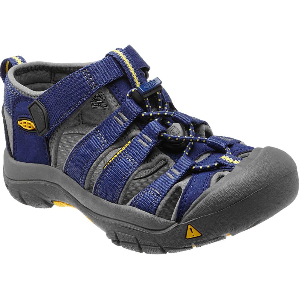 KEEN Big Kids' Newport H2 Sandals - BLUE DEPTHS/GARGOYLE