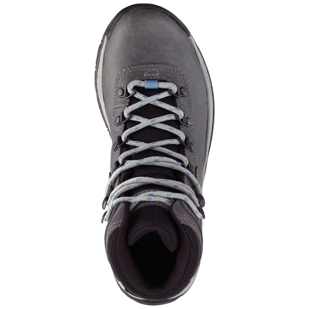 COLUMBIA Women's Newton Ridge™ Plus Mid Waterproof Hiking Boots, Wide - COOL WAVE