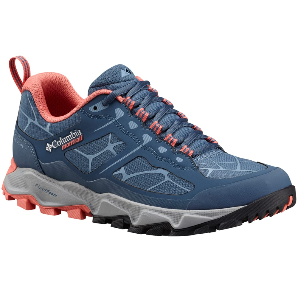 COLUMBIA Women's Trans Alps II Trail Running Shoes - STEEL