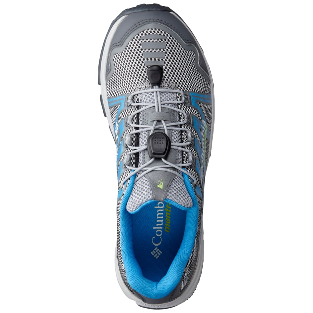 COLUMBIA Women's Mountain Masochist IV Outdry Trail Running Shoes - STEAM/JADE