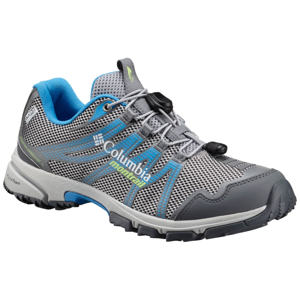 COLUMBIA Women's Mountain Masochist IV Outdry Trail Running Shoes - STEAM/JADE