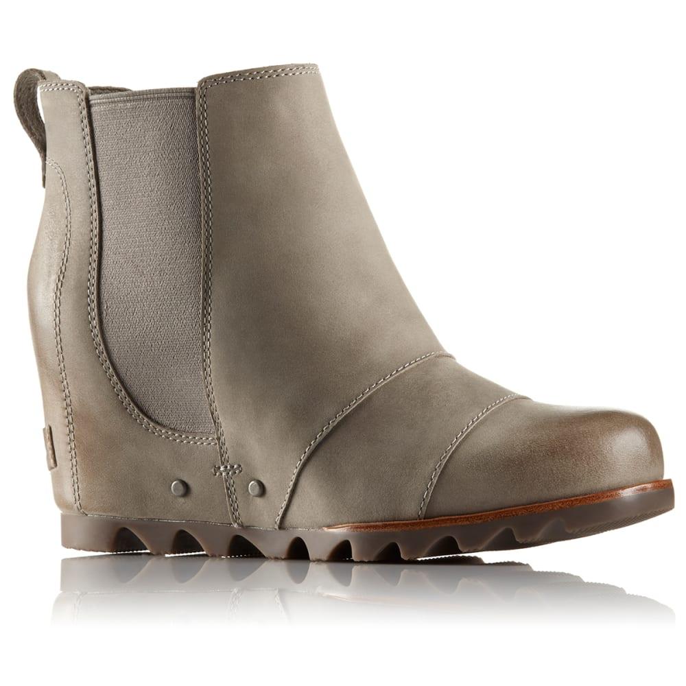 SOREL Women's Lea Wedge Low Waterproof Boots - KETTLE