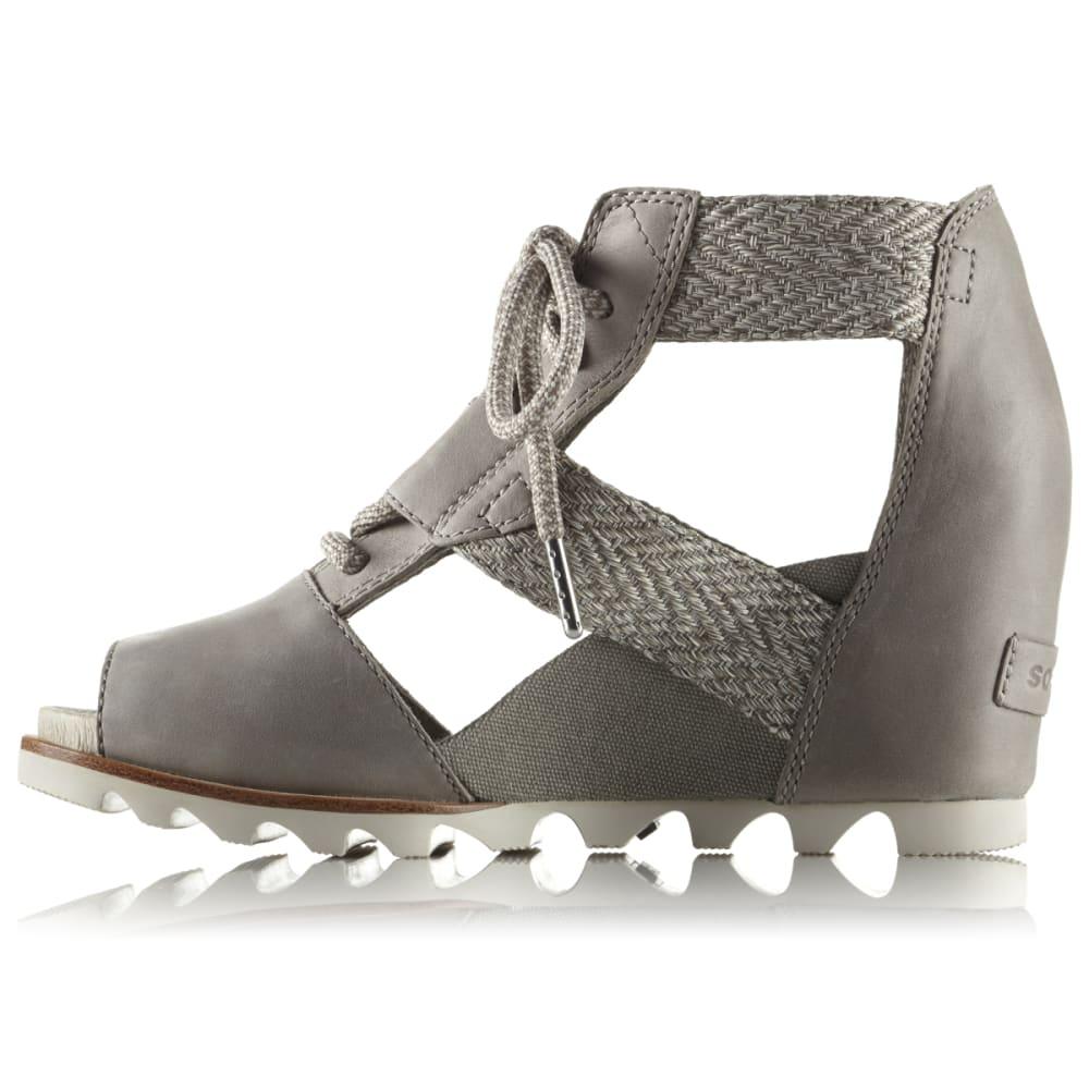 SOREL Women's Joanie Lace Wedge Sandal - KETTLE