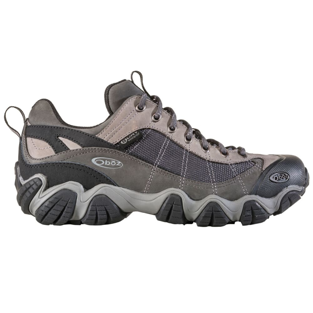 OBOZ Men's Firebrand II Low Waterproof Hiking Shoes - GREY