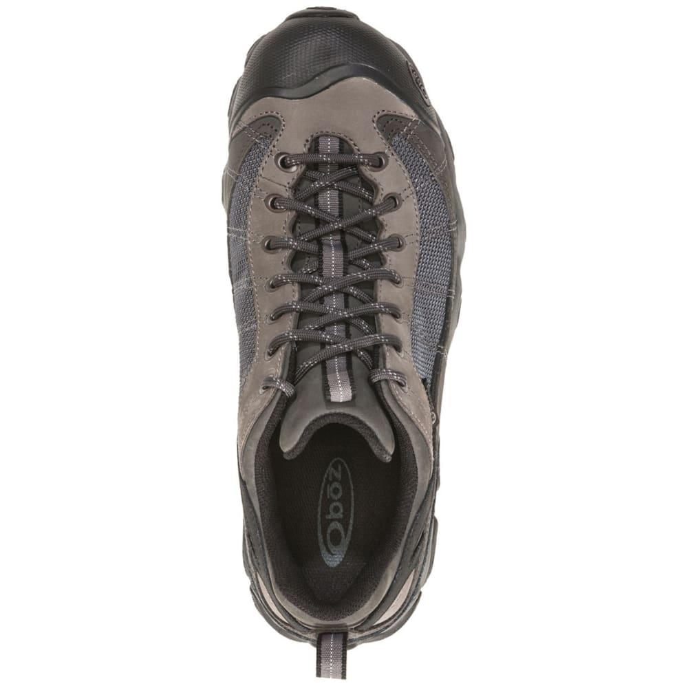 OBOZ Men's Firebrand II Low Waterproof Hiking Shoes - GREY