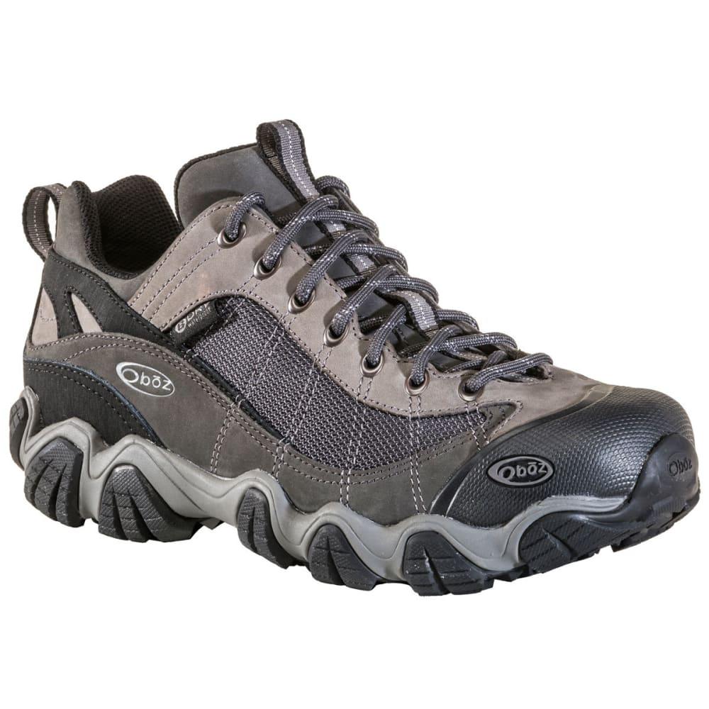 OBOZ Men's Firebrand II Low Waterproof Hiking Shoes - GRAY