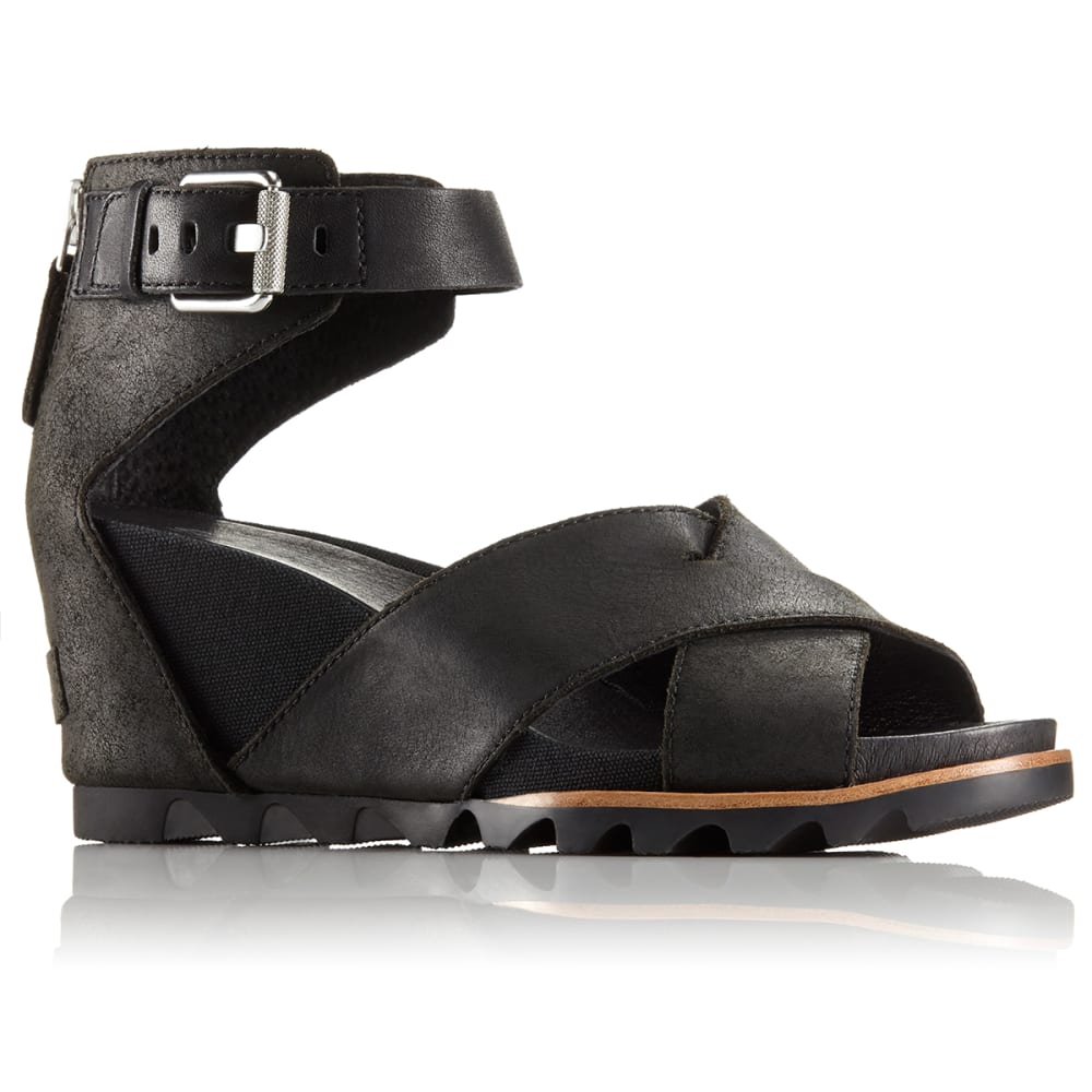 SOREL Women's Joanie II Sandals - BLACK