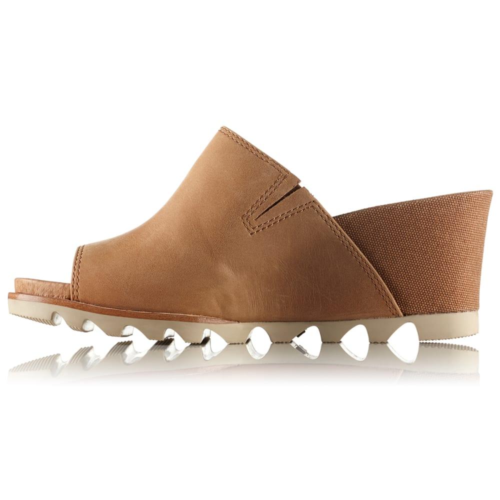 SOREL Women's Joanie Mule II Sandals - CAMEL