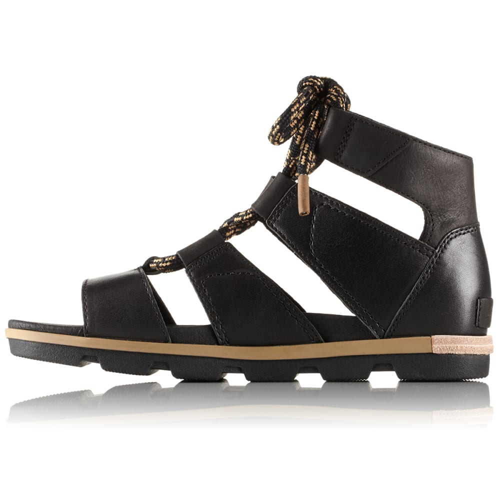 SOREL Women's Torpeda™ Lace II Sandals - BLACK