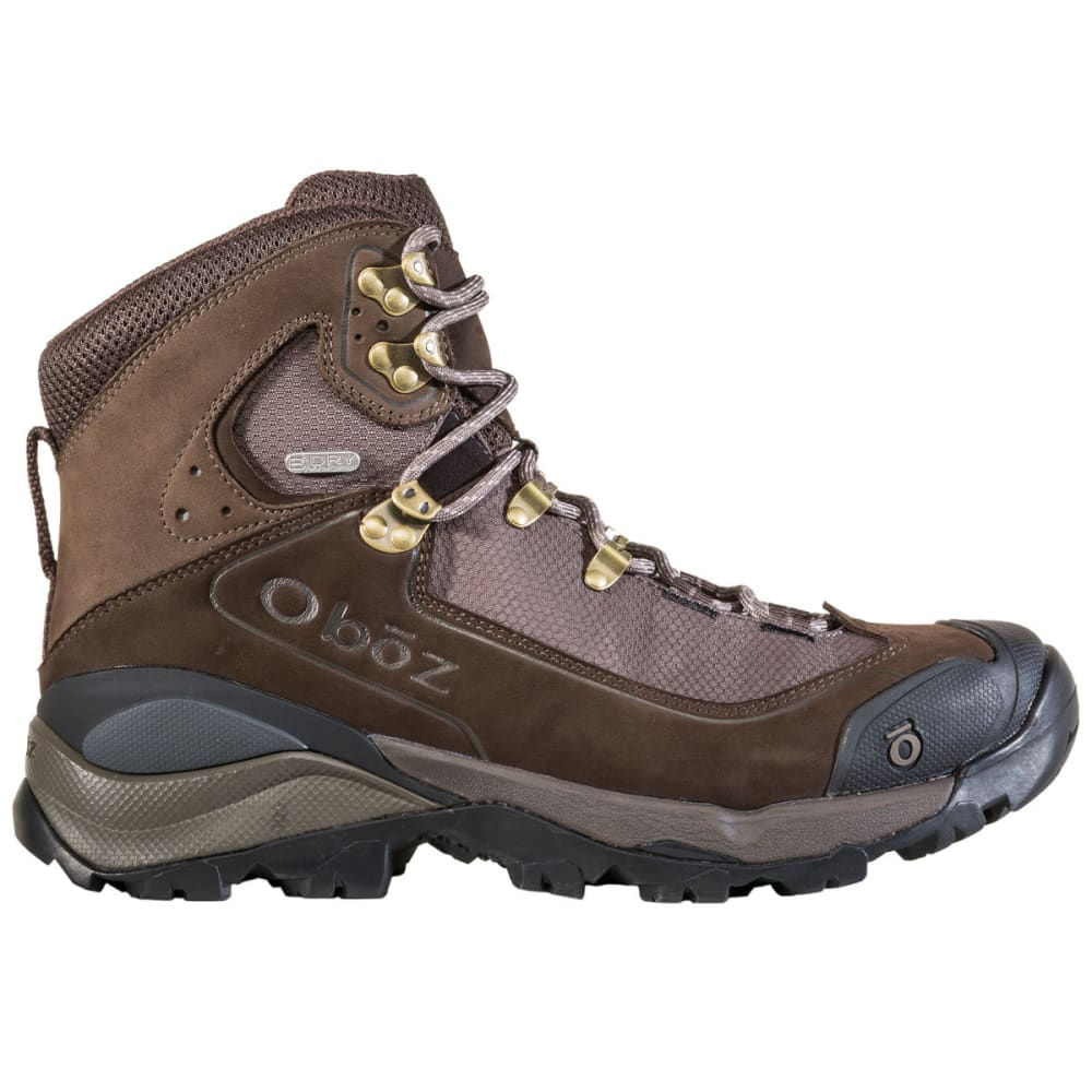 OBOZ Men's Wind River III Waterproof Mid Hiking Boots - BARK BROWN