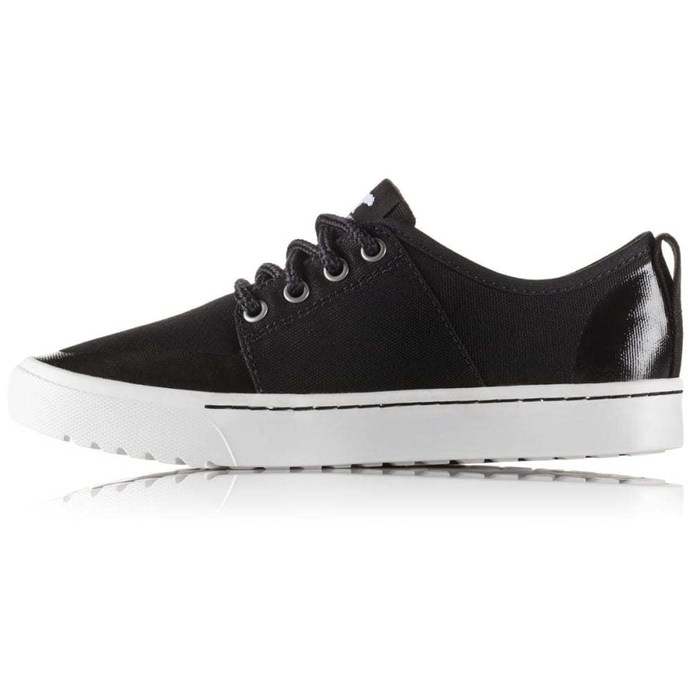 SOREL Women's Campsneak Lace-Up Casual Shoes - BLACK