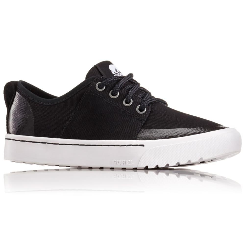 SOREL Women's Campsneak Lace-Up Casual Shoes - BLACK