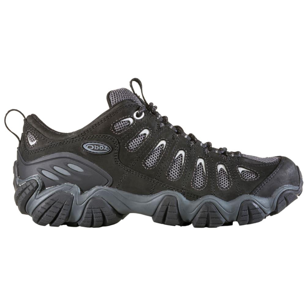 OBOZ Men's Sawtooth Low Hiking Shoes - BLACK