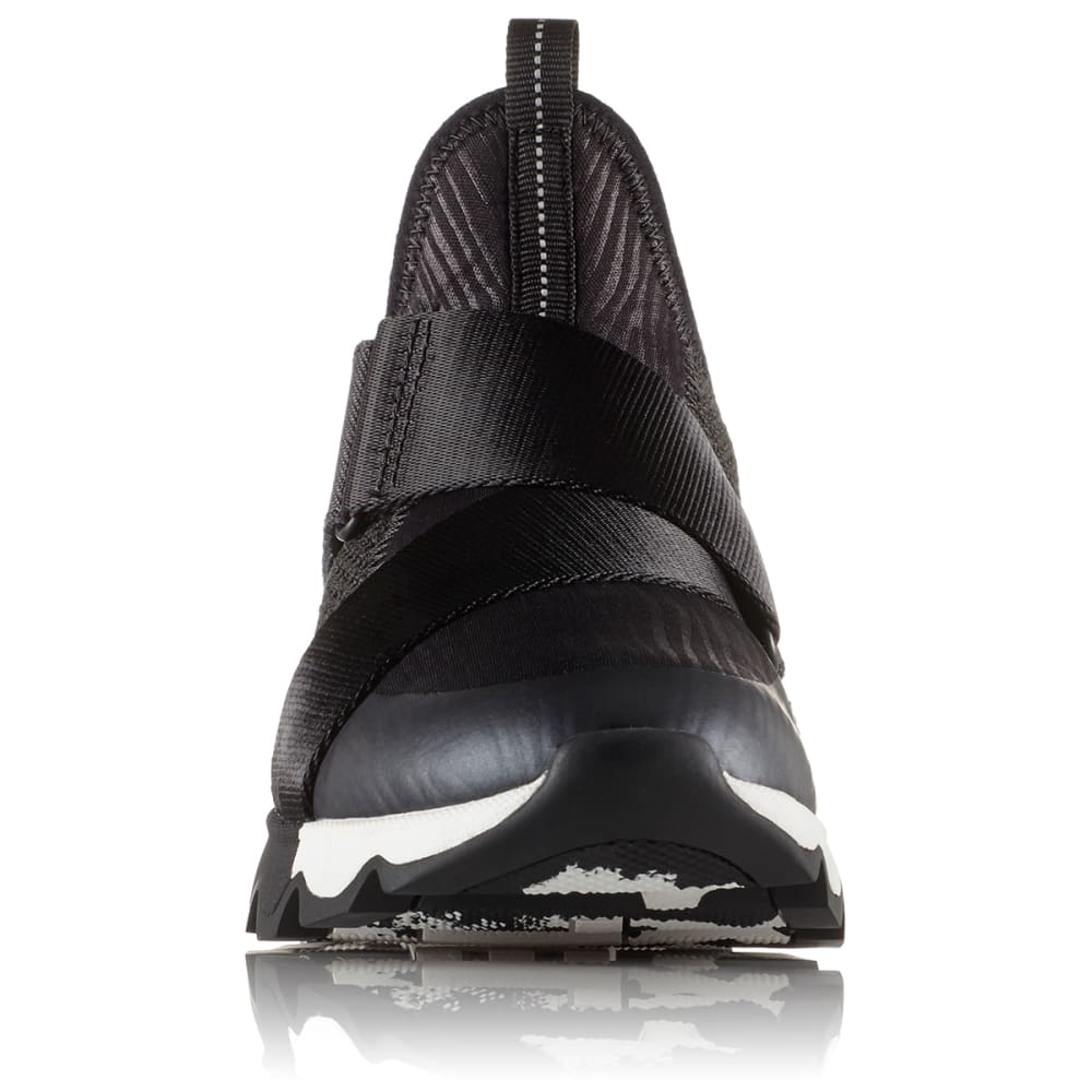 SOREL Women's Kinetic Sneak Shoes - BLACK