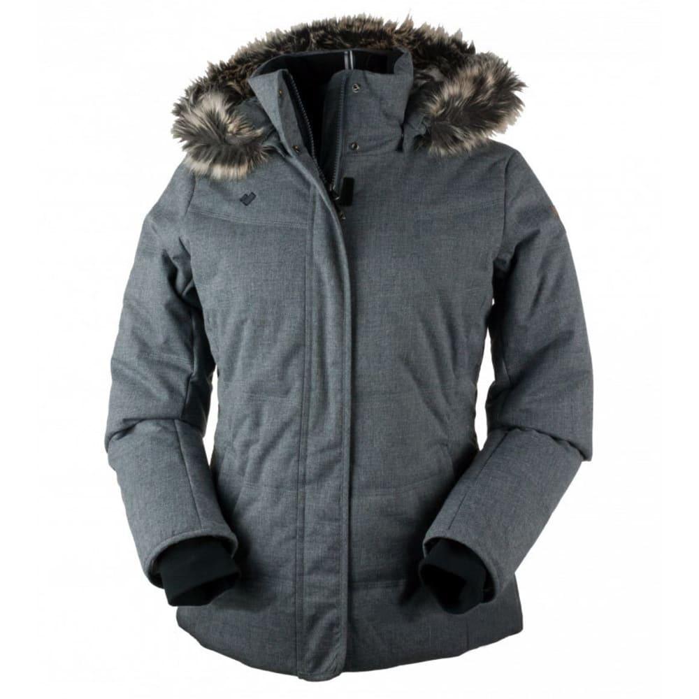 OBERMEYER Women's Tuscany Jacket, Petite - CHARCOAL