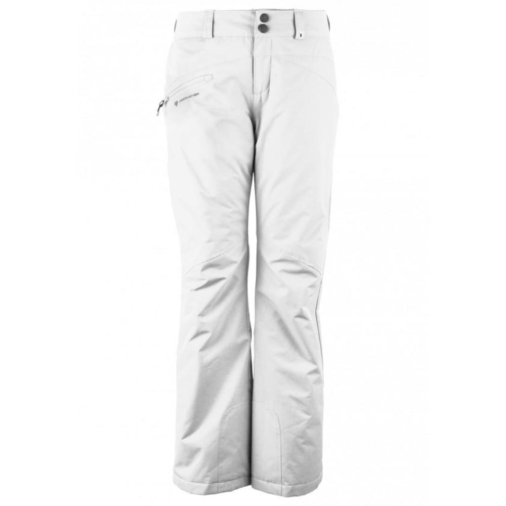 OBERMEYER Women's Malta Ski Pants - WHITE