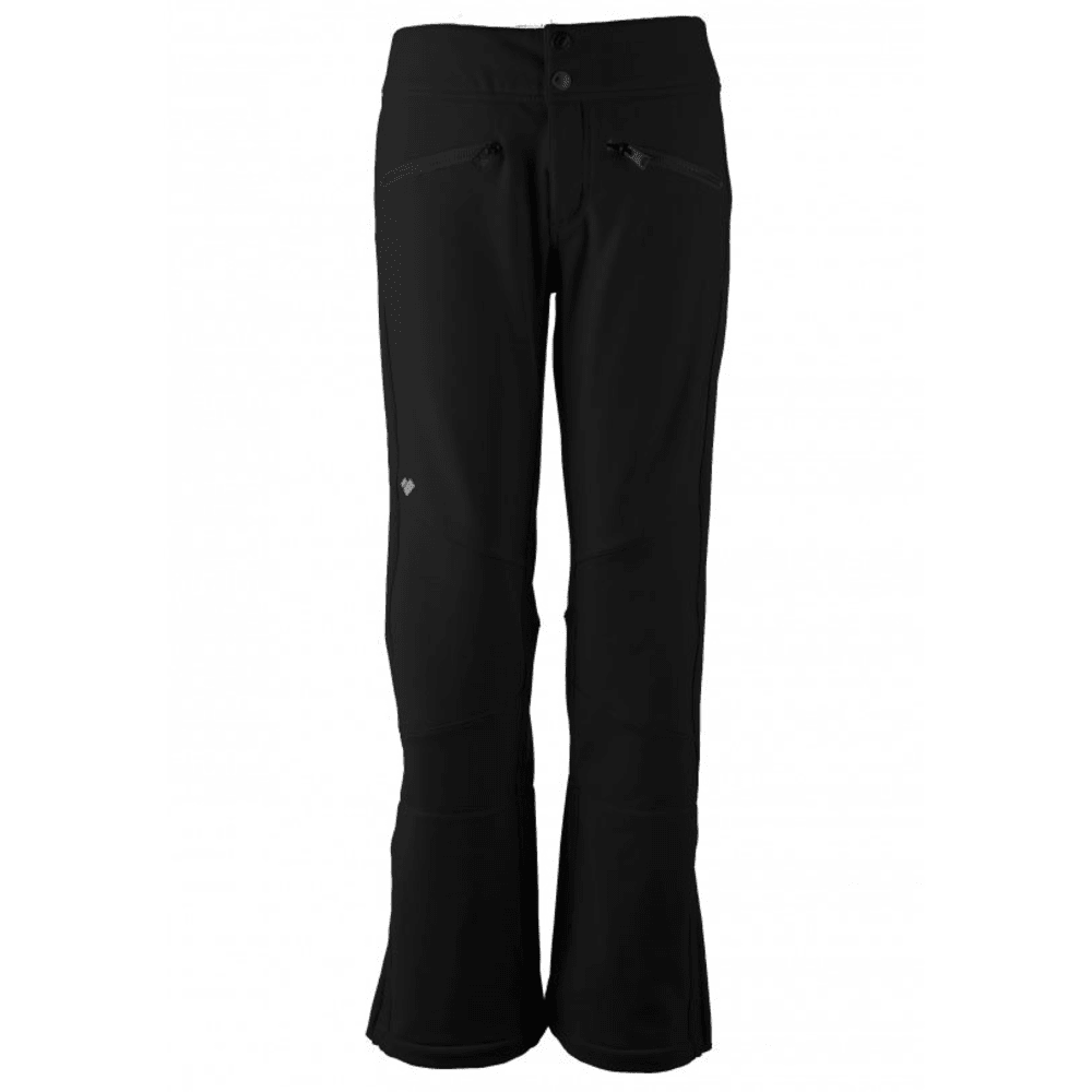 OBERMEYER Women's Clio Softshell Pants - BLACK