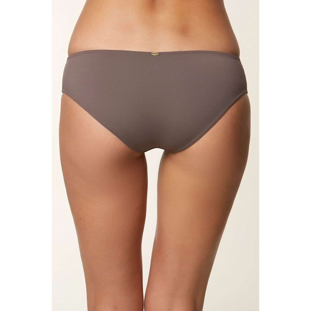 O'NEILL Women's Salt Water Solid Bottom - PEPPER