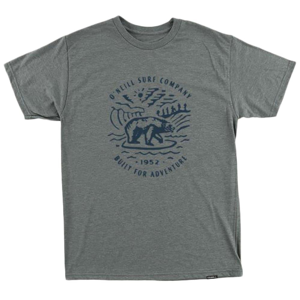 O'NEILL Men's Roamer Short-Sleeve Tee - MHT-MEDIUM HTR GRAY
