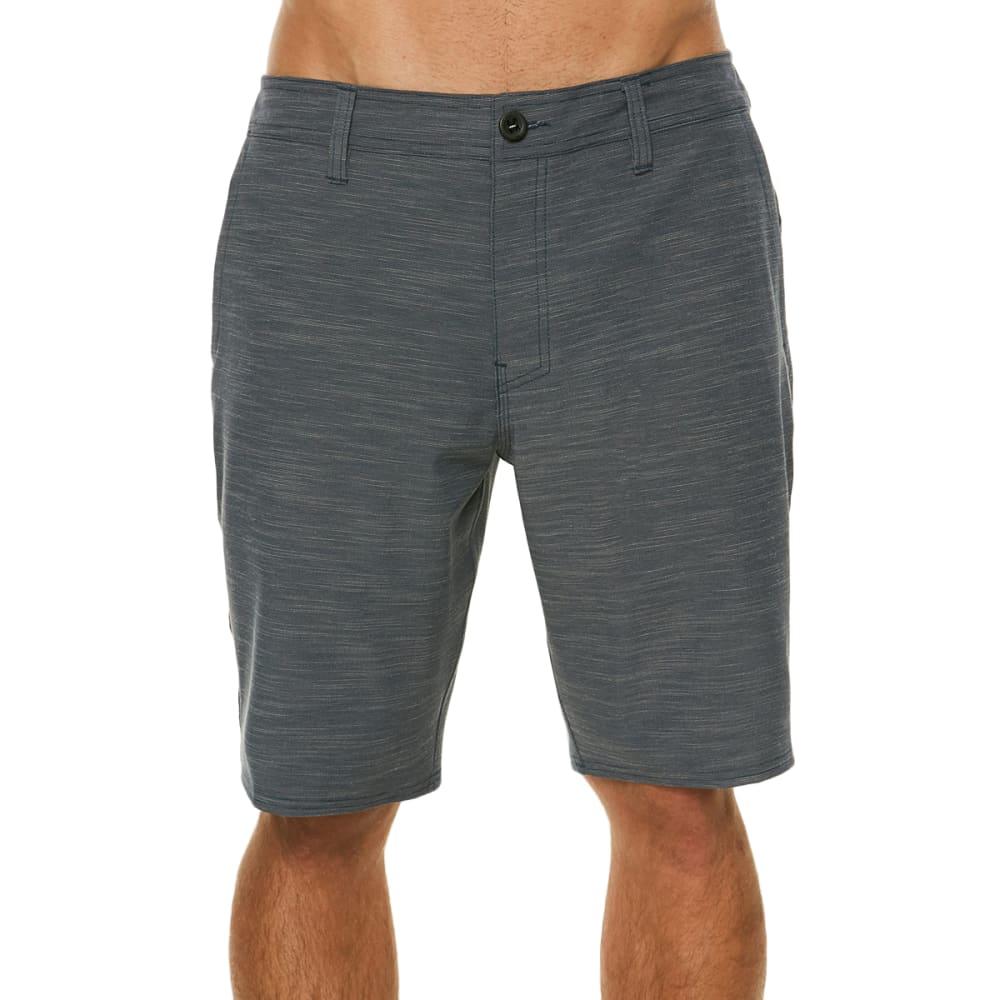 O'NEILL Men's Locked Slub Hybrid Short - SLATE-SLT