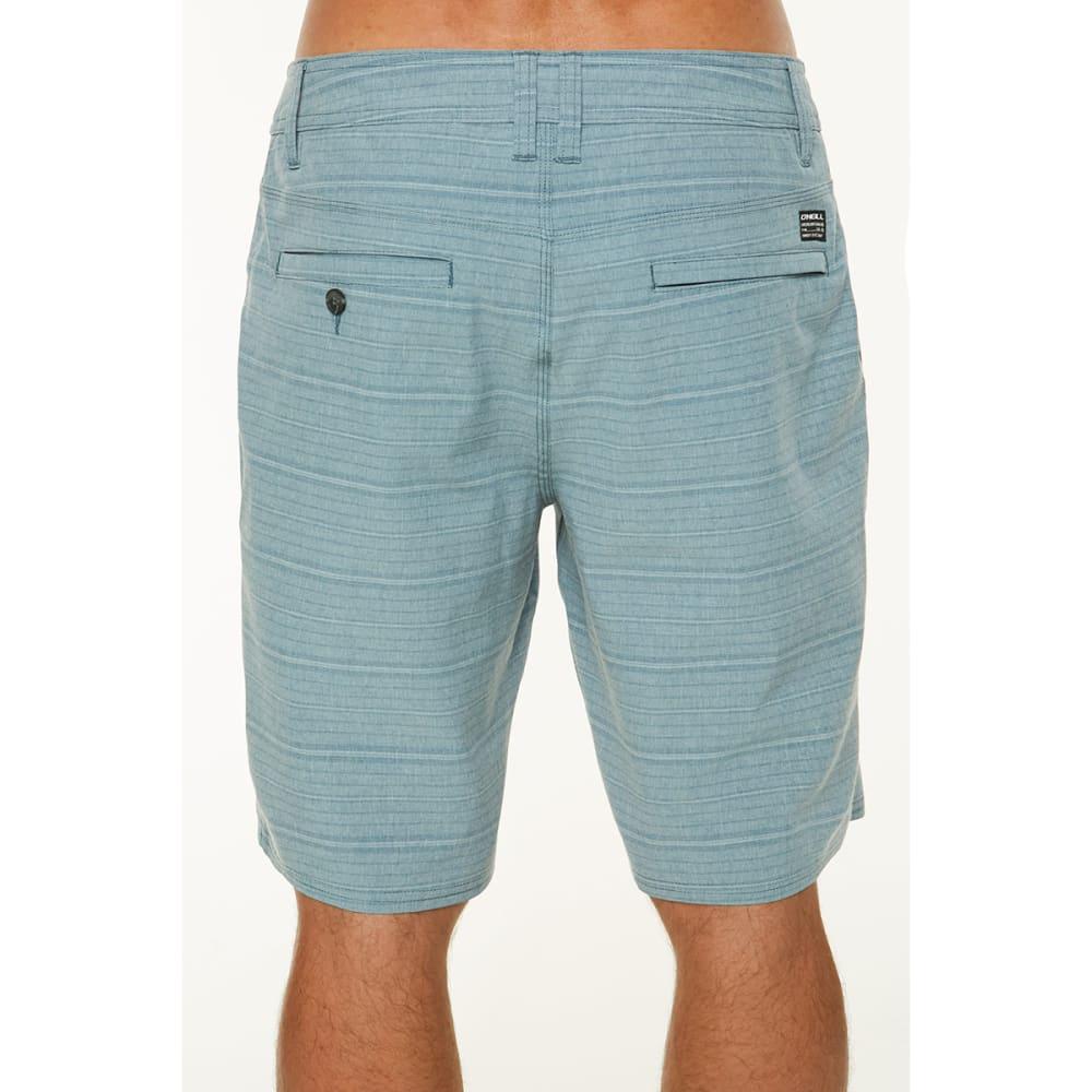 O'NEILL Guys' Locked Stripe Hybrid Shorts - DUST BLUE-DBL