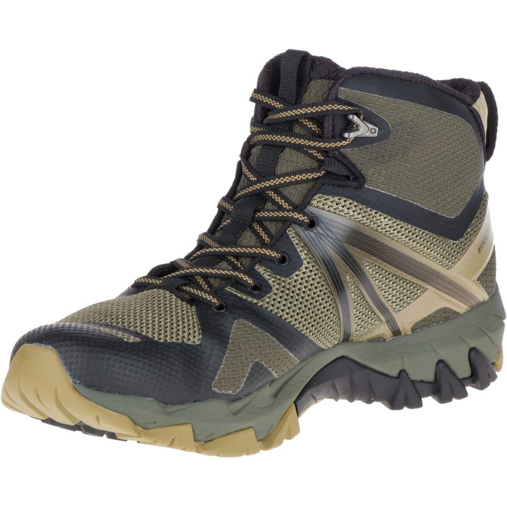 c84e2de19d0e1 MERRELL Men's MQM Flex Mid Waterproof Hiking Boots - DUSTY OLIVE