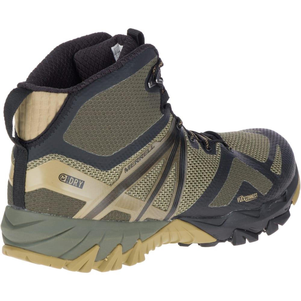 137597ceceec MERRELL Men  39 s MQM Flex Mid Waterproof Hiking Boots - DUSTY OLIVE