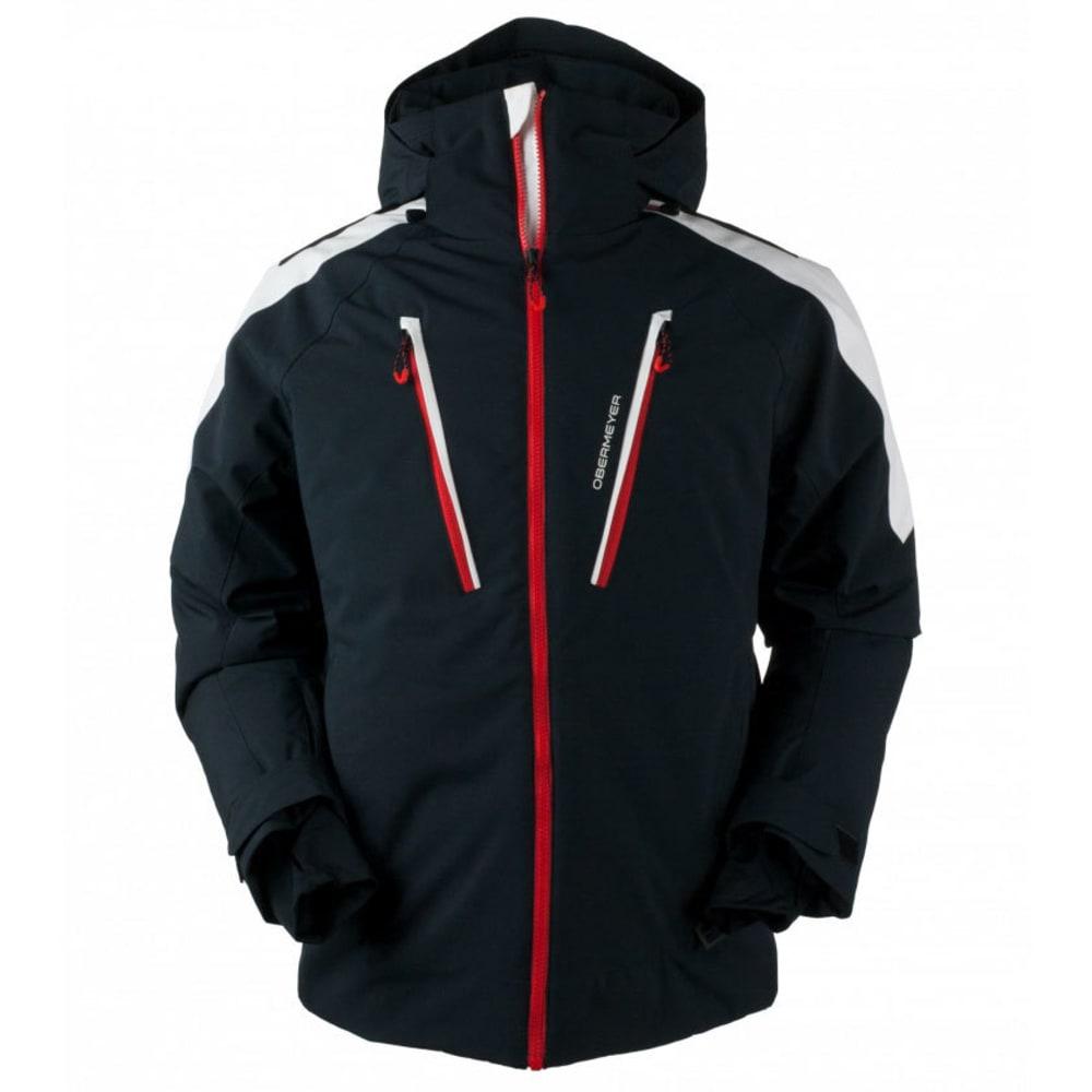 OBERMEYER Men's Foundation Jacket - WHITE