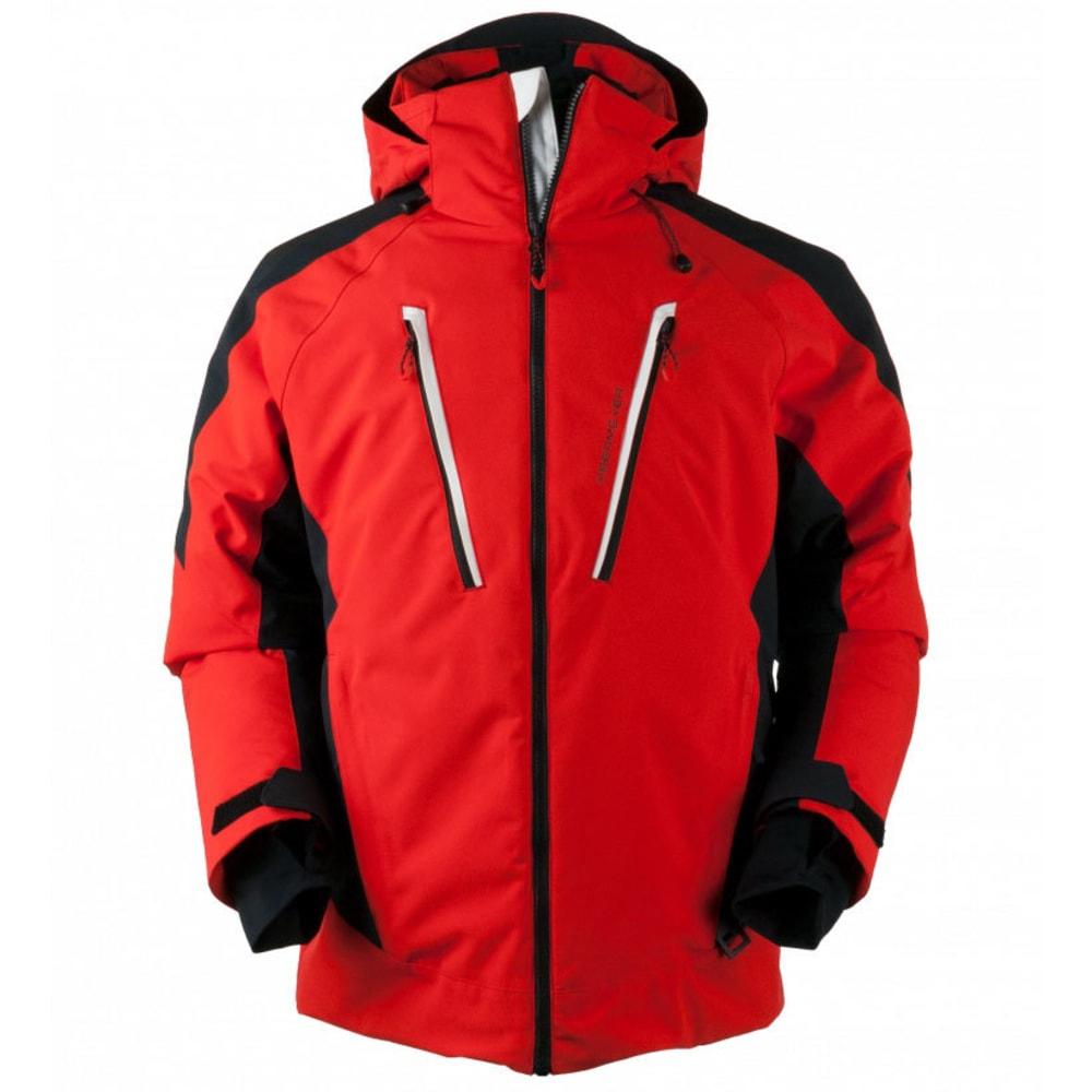 OBERMEYER Men's Foundation Jacket - RED