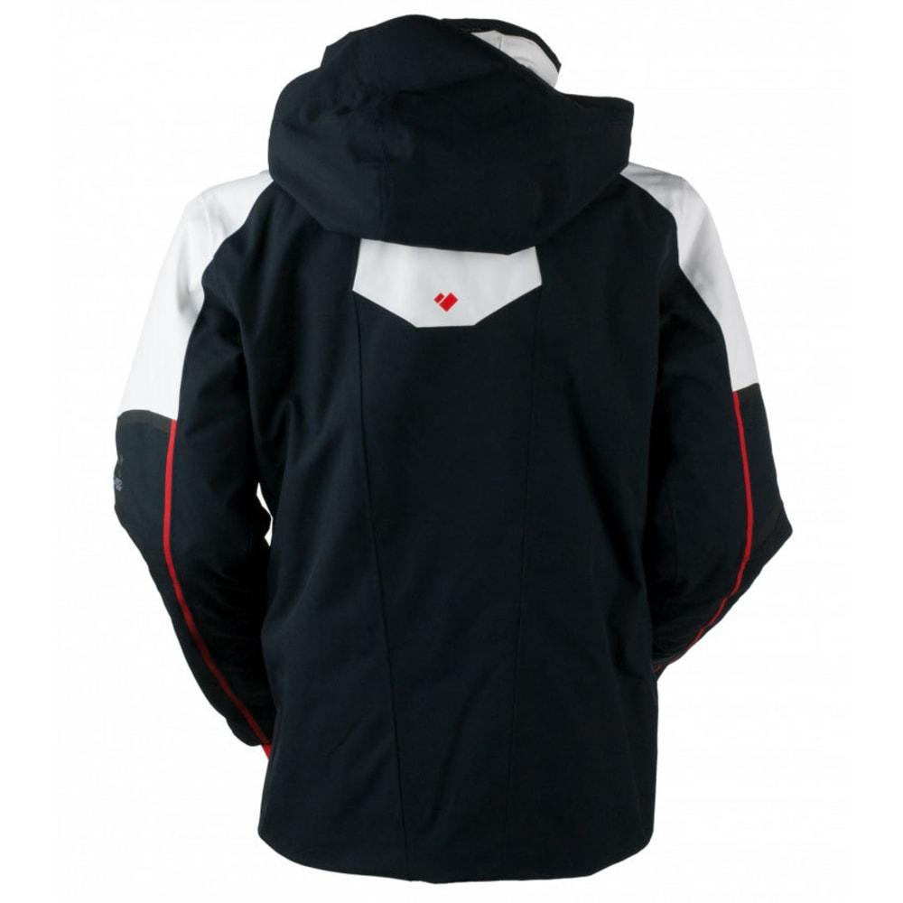OBERMEYER Men's Charger Jacket - BLACK