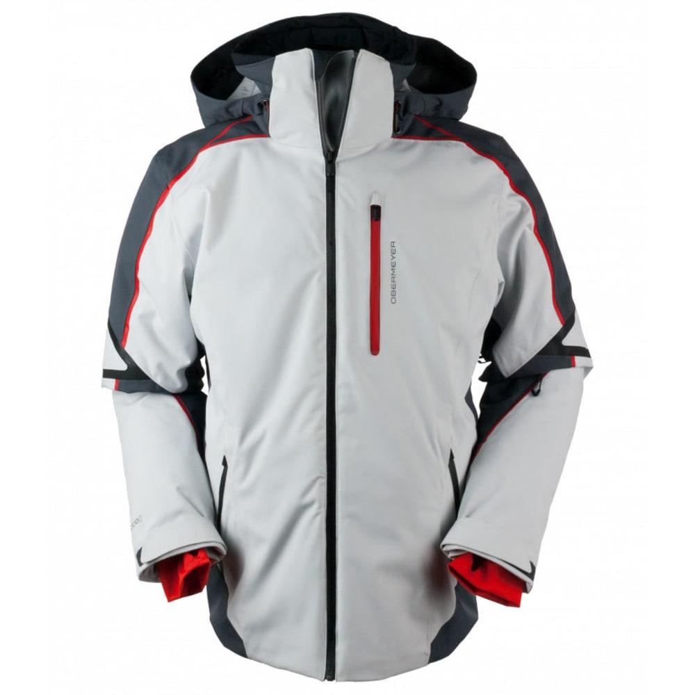OBERMEYER Men's Charger Jacket - FOG