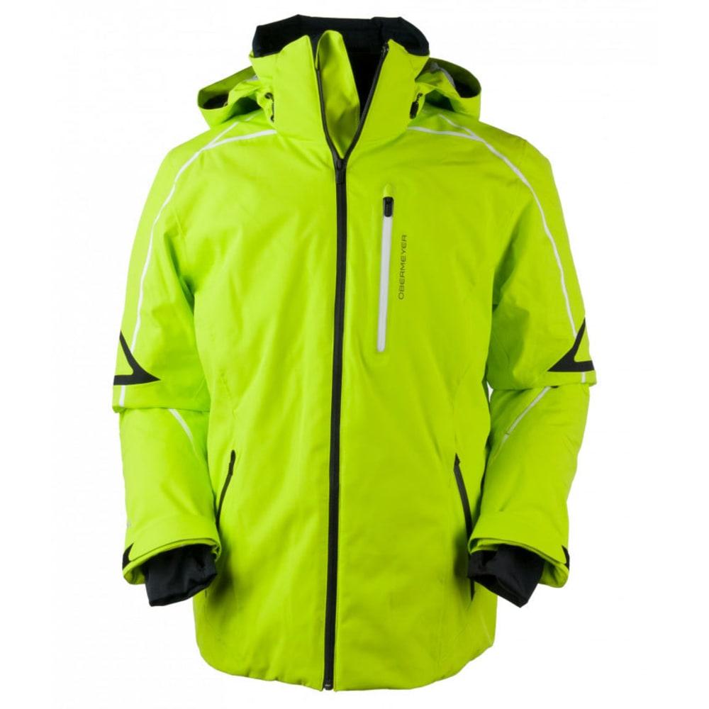 OBERMEYER Men's Charger Jacket - GREEN FLASH