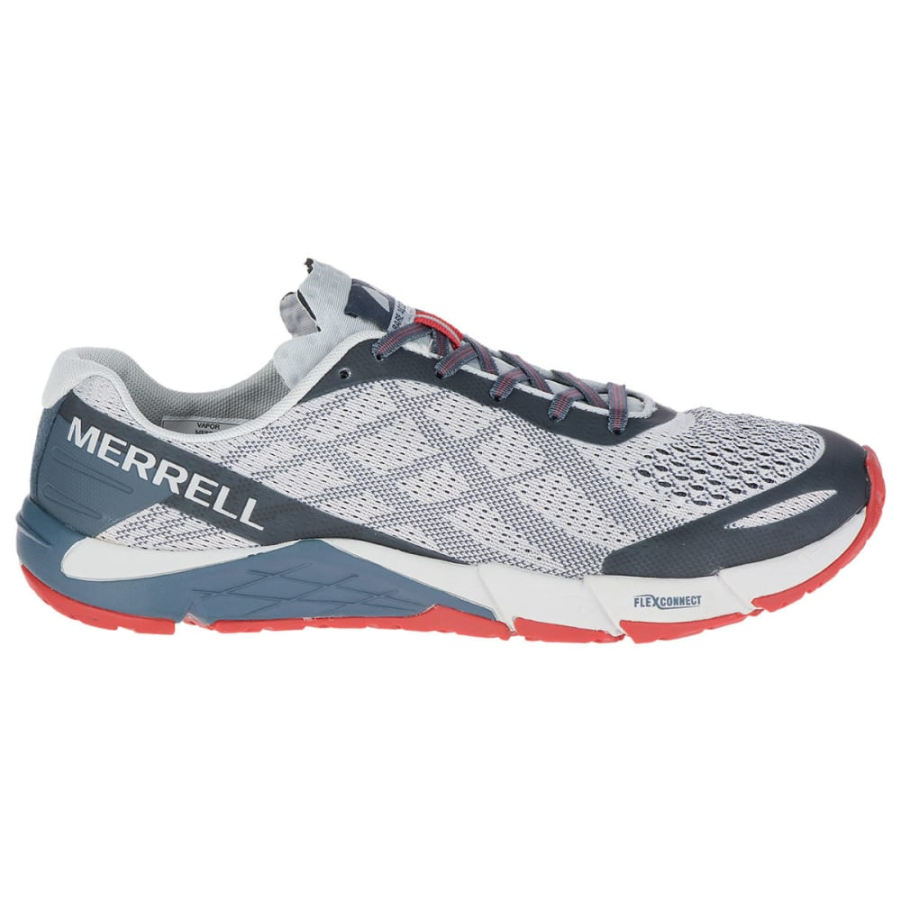 MERRELL Men's Bare Access Flex E-Mesh Trail Running Shoes - VAPOR