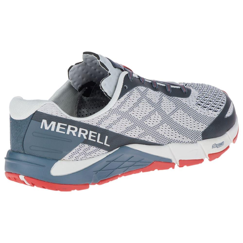 MERRELL Men's Bare Access Flex E-Mesh Trail Running Shoes - VAPOR