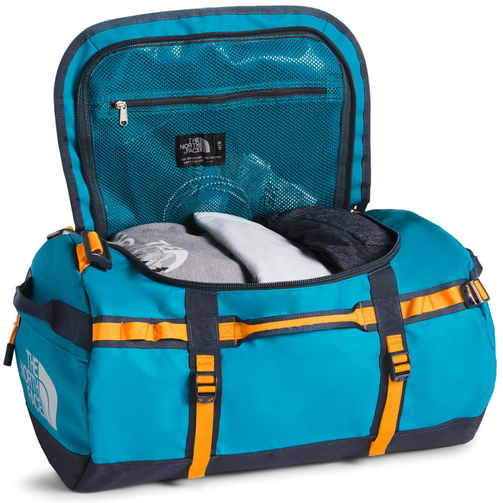THE NORTH FACE Base Camp Duffel, Small - CRYSTAL TEAL/NVY AS1