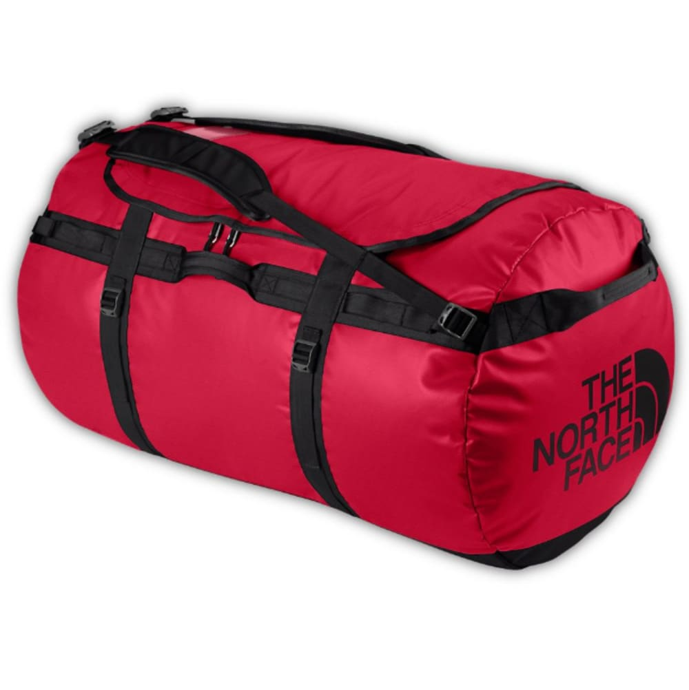 THE NORTH FACE Base Camp Duffel, Small - TNF RED/TNF BLACK