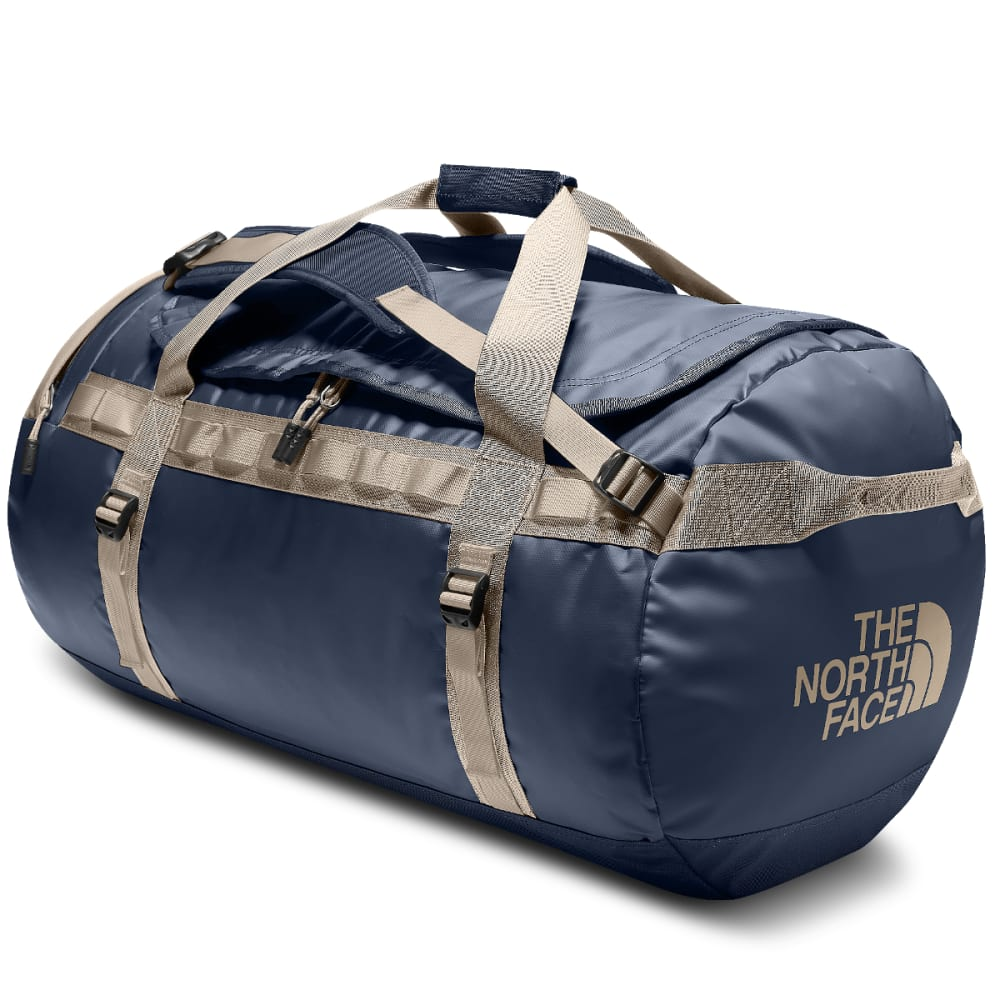 THE NORTH FACE Base Camp Duffel Bag, Large - URBAN NAVY/BEIGE