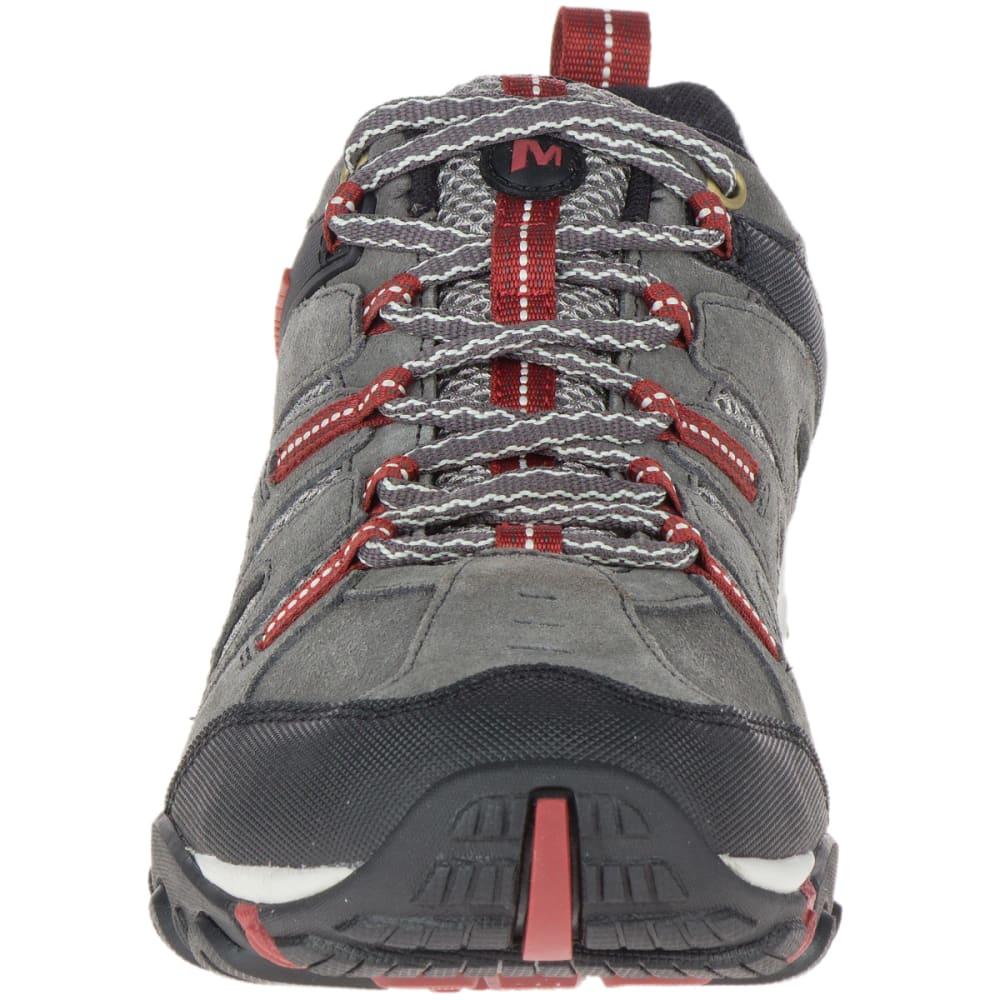 MERRELL Men's Crosslander Vent Low Hiking Shoes - GRANITE/RED