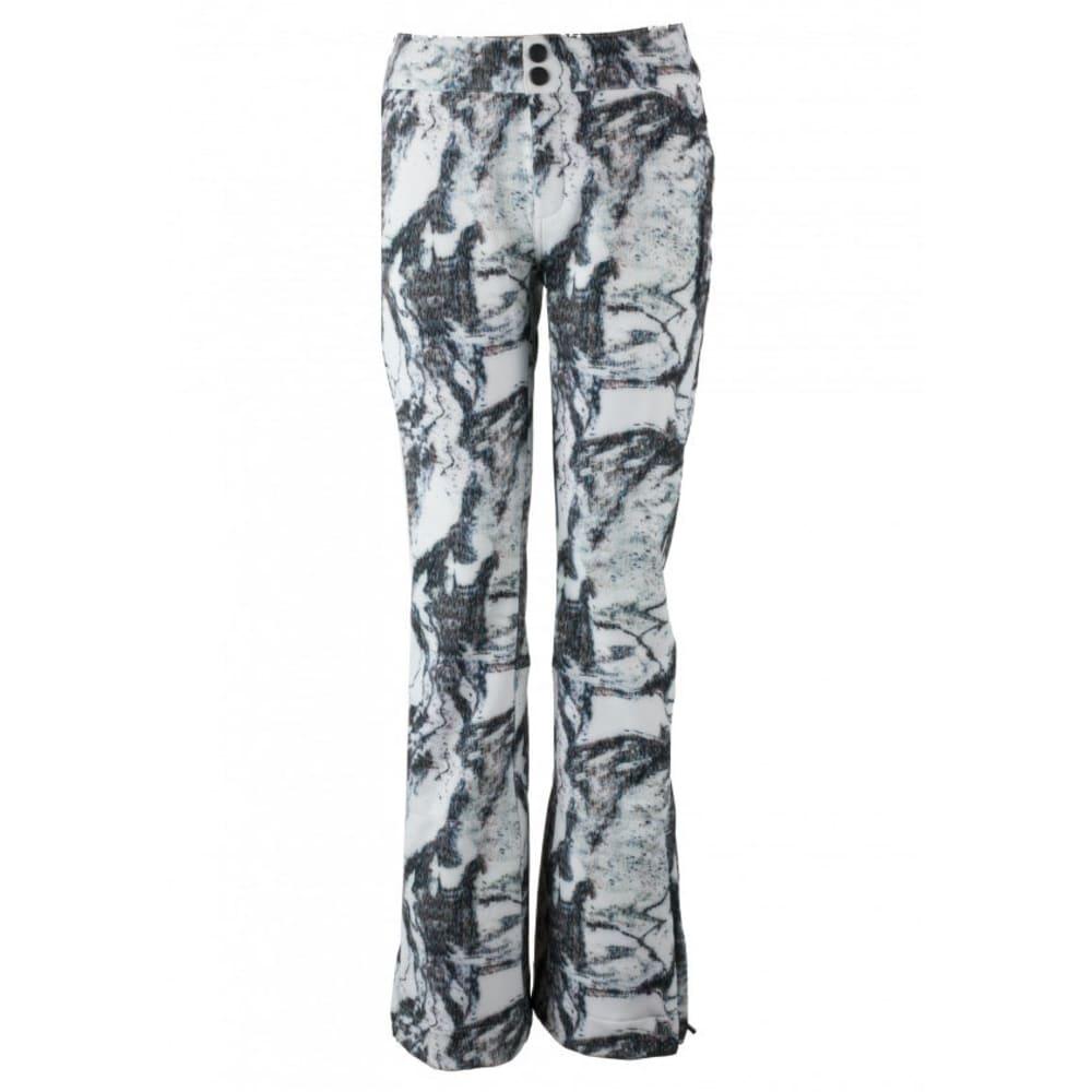 OBERMEYER Women's Printed Bond Ski Pants - MTN MIRAGE