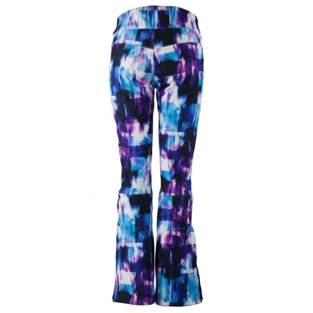OBERMEYER Women's Printed Bond Ski Pants - APRES EFFECT