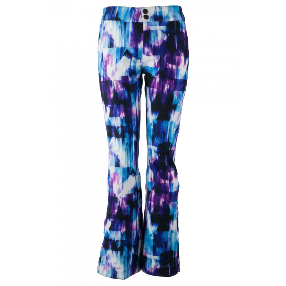 OBERMEYER Women's Printed Bond Ski Pants - APRES EFFECT