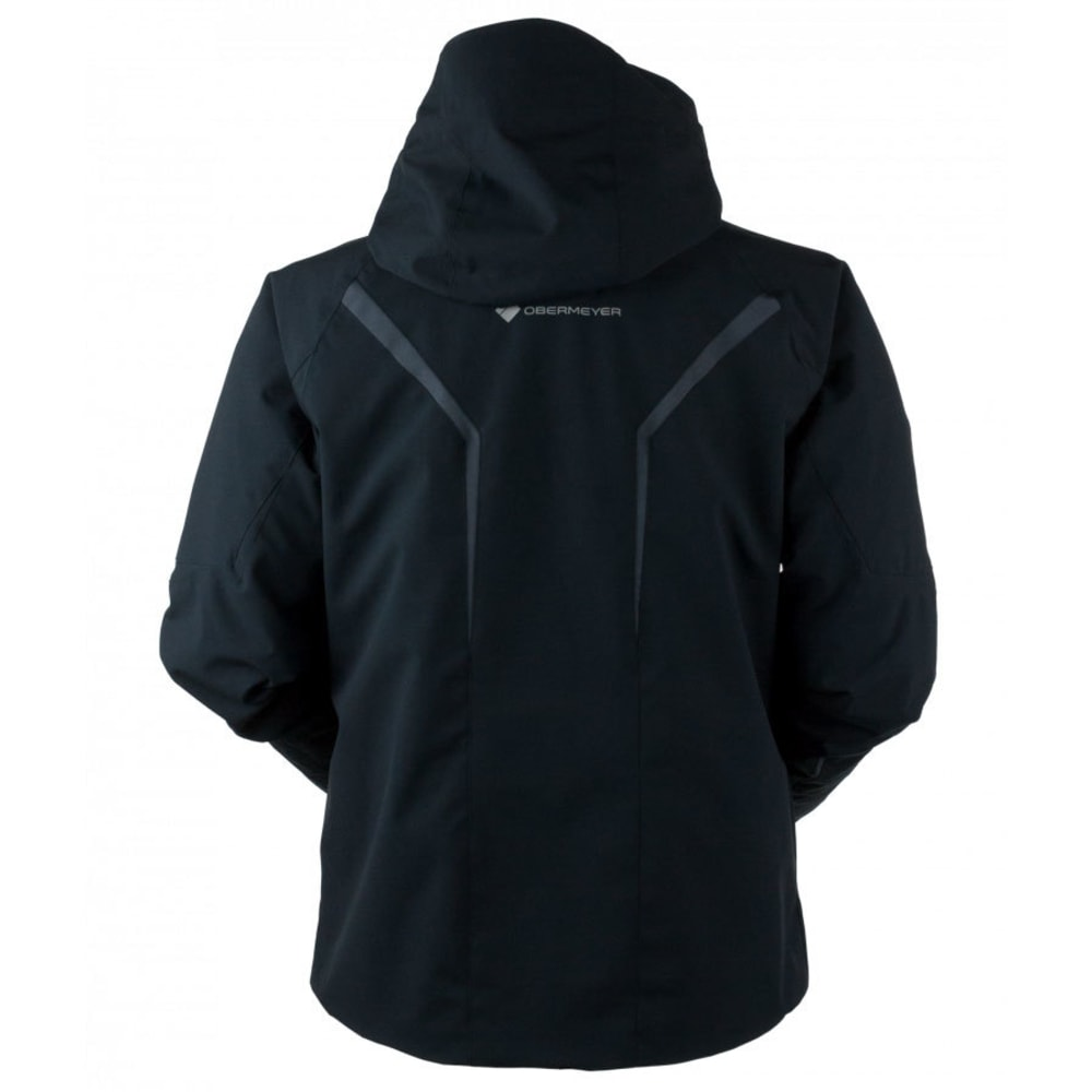 OBERMEYER Men's Trilogy Prime System Jacket - BLACK