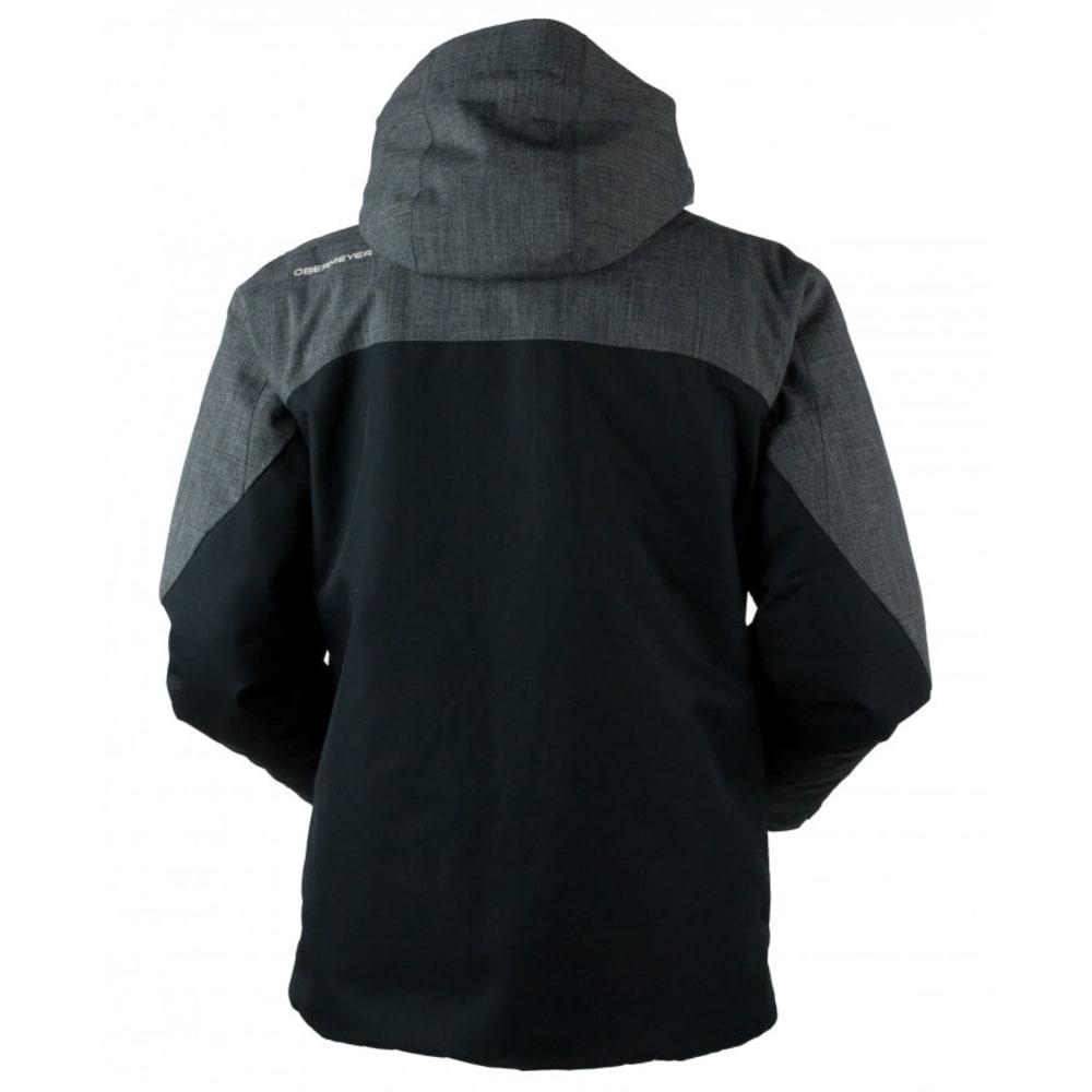 OBERMEYER Men's Freeform Jacket - DARK HEATHER GREY